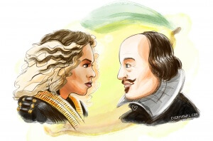 EveryVowel.com / Beyonce & Shakespeare