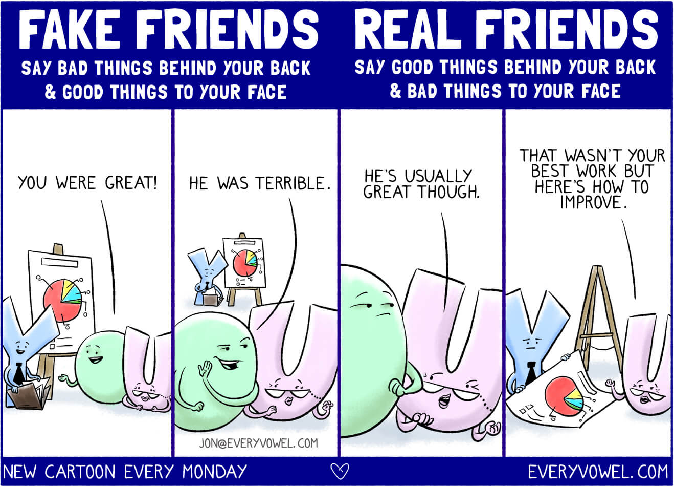 Fake vs Real Friends