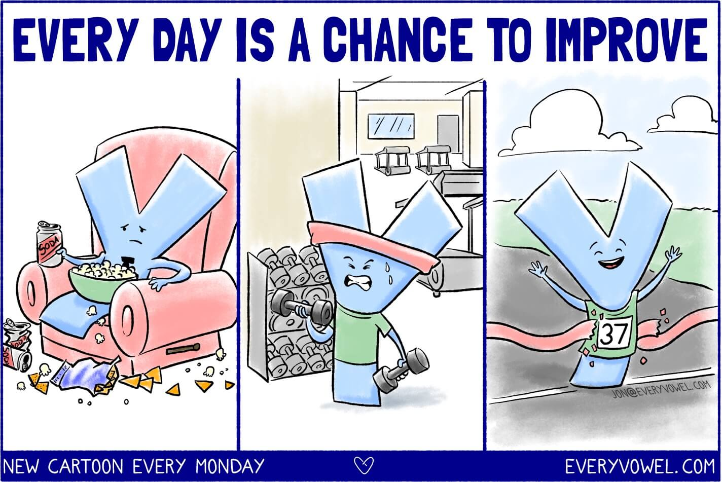 Every Day Is A Chance To Improve